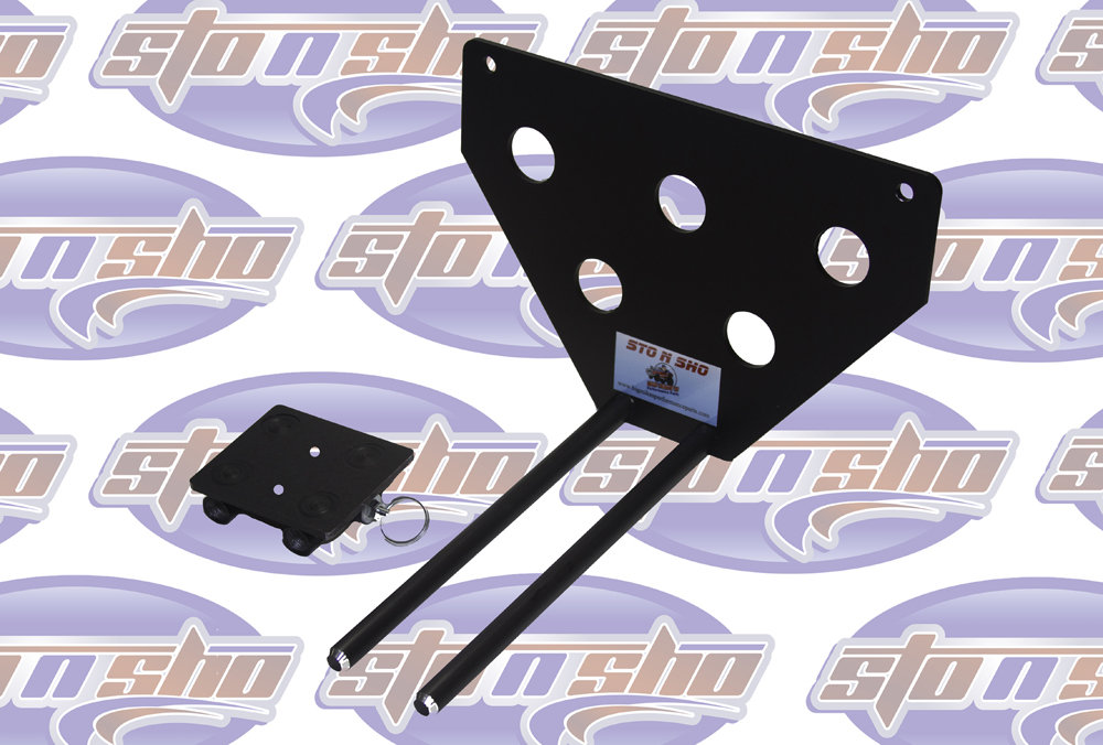 Sto N Sho Mustang GT License Plate Bracket With Performance Pack 1 PP1 (2018-2020)