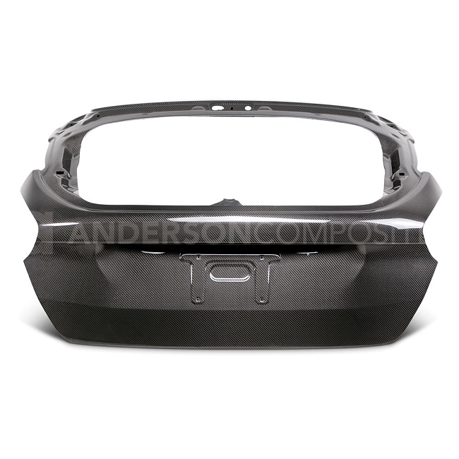 Anderson Composites Ford Focus Hatchback Carbon Fiber Trunk Lid (2015-2018)