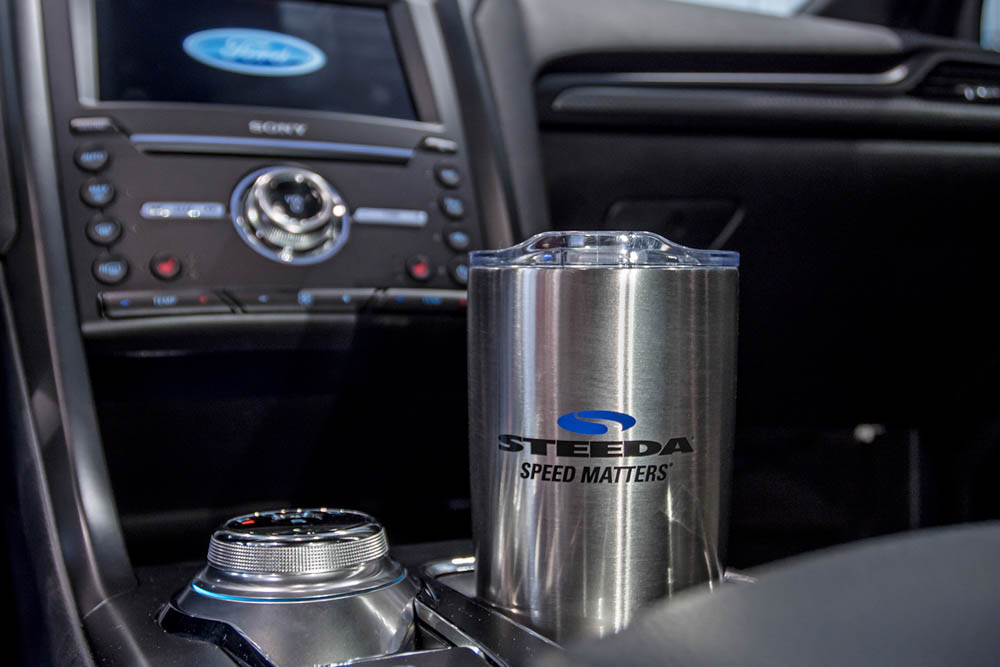 Steeda Stainless Steel Tumbler