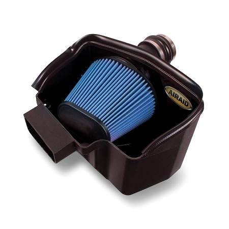 Airaid Ford Explorer 3.5L Ecoboost MXP Intake System w/ Tube (Dry / Blue Media) (2013-2019)