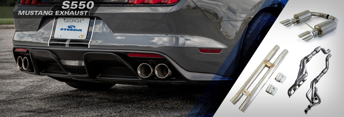 S550 Mustang Exhaust At Steeda