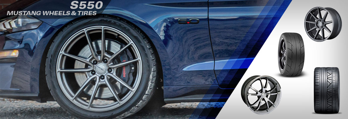 Steeda S550 Mustang Wheels & Tires