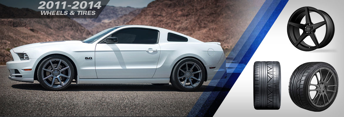 2011-2014 Ford Mustang Wheels & Tires