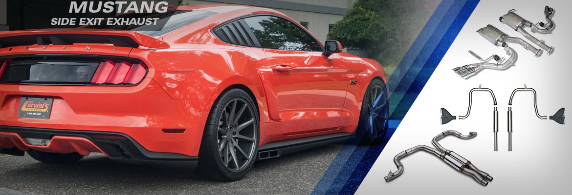 Ford Mustang Side Exit Exhaust Systems