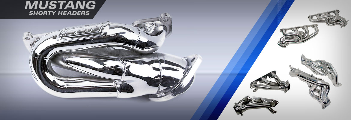 Ford Mustang Shorty Headers