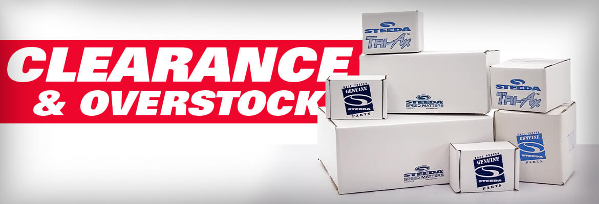 Clearance and Overstock Parts At Steeda