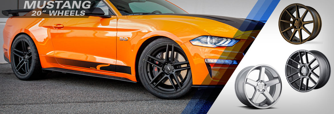 Mustang 20-inch Wheels At Steeda
