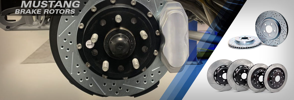Ford Mustang Brake Rotors At Steeda