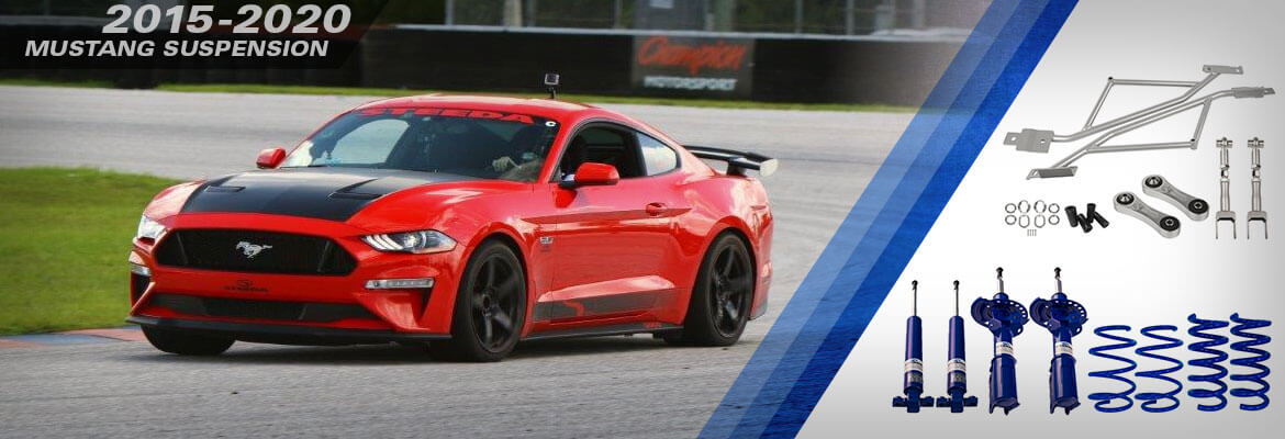 2015-2020 Mustang Suspension at Steeda