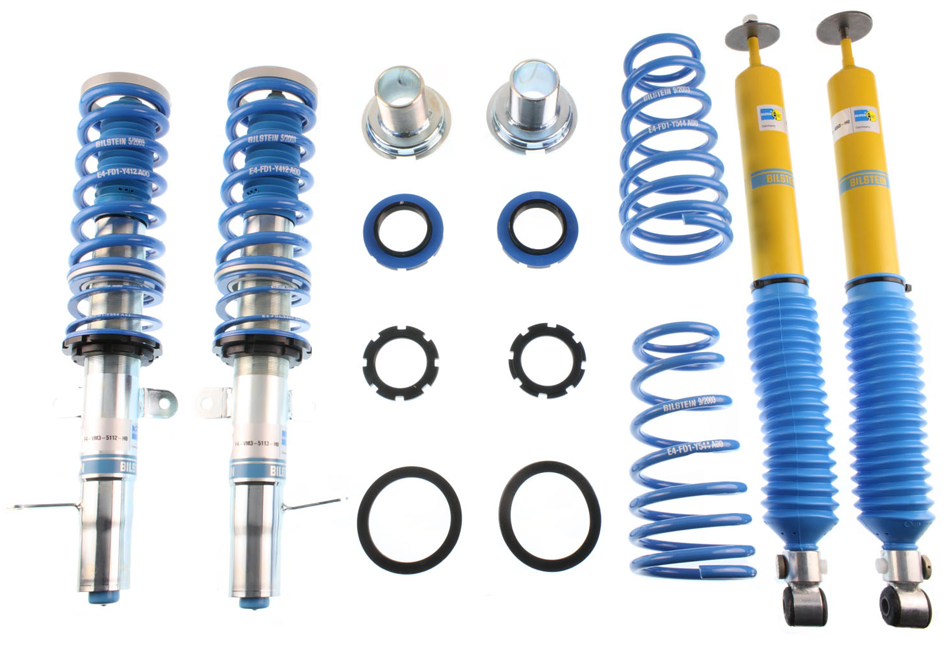 Focus Coilover Systems; Suspension; Looking to upgrade your Focus's suspension? You've come to the right place! Steeda is world-renowned for our suspension and steering components. We offer a wide-range of upgrades, from lowering springs, caster camber plates, sway bars, end links, shocks/s