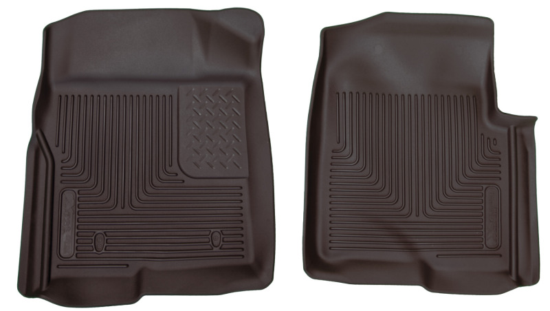 Husky Liners X-Act Contour Black Floor Liners (09-14 SuperCrew / SuperCab / Standard Cab Automatic)