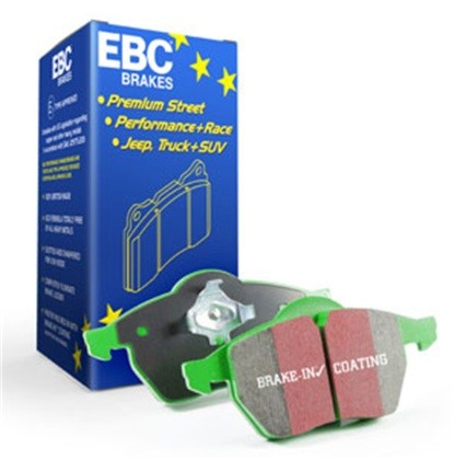 EBC Ford Explorer 2.0 Turbo 2WD Greenstuff Front Brake Pads (2011-2019)