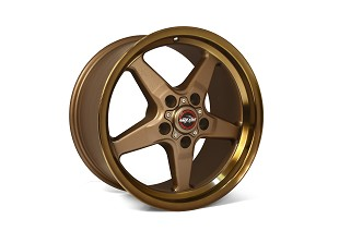 Race Star S550/S197 Ford Mustang 92 Drag Star Bronze Wheel 17x10.5 (2005-2019)