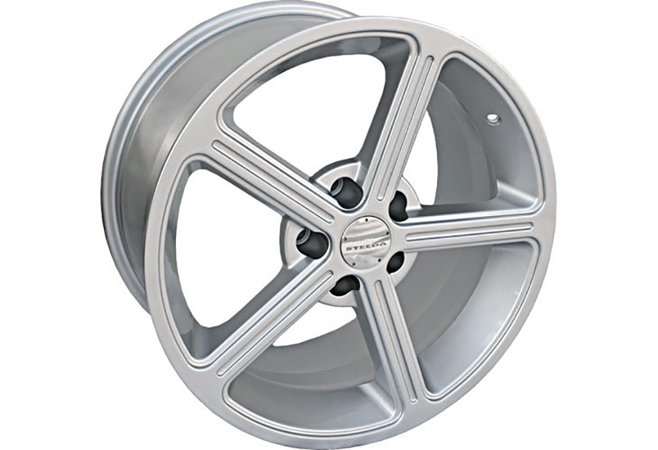 Steeda Ultra-Lite Mustang Wheel - Silver - 18x9.5 (94-04) DISCONTINUED