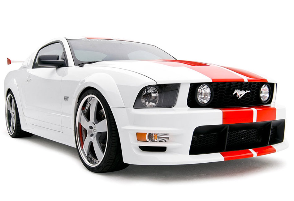 3D Carbon 10 Piece Boy Racer Mustang Body Kit (05-09)
