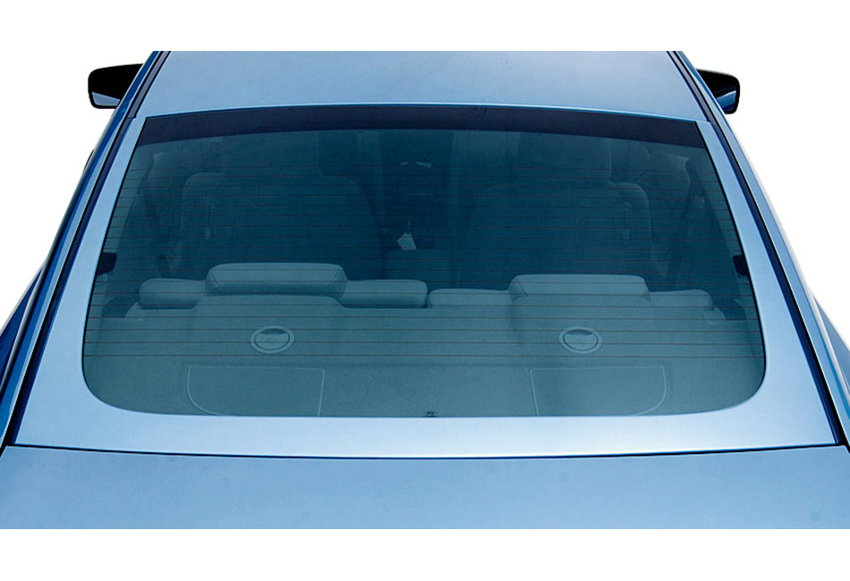 3D Carbon Mustang U-Shape Rear Window Trim (2005-2009)