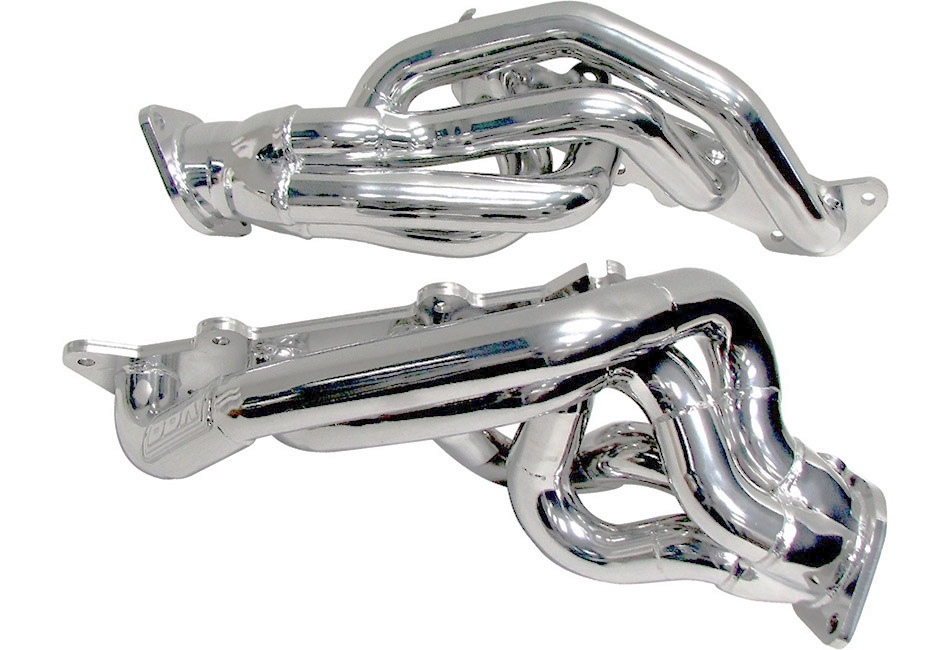 BBK Mustang Shorty Headers - Silver (11-14 GT/Boss)