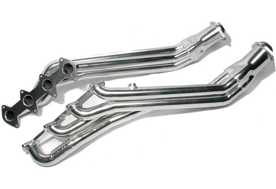 BBK Mustang Long Tube Headers - Silver Ceramic (05-10 GT/Bullitt)