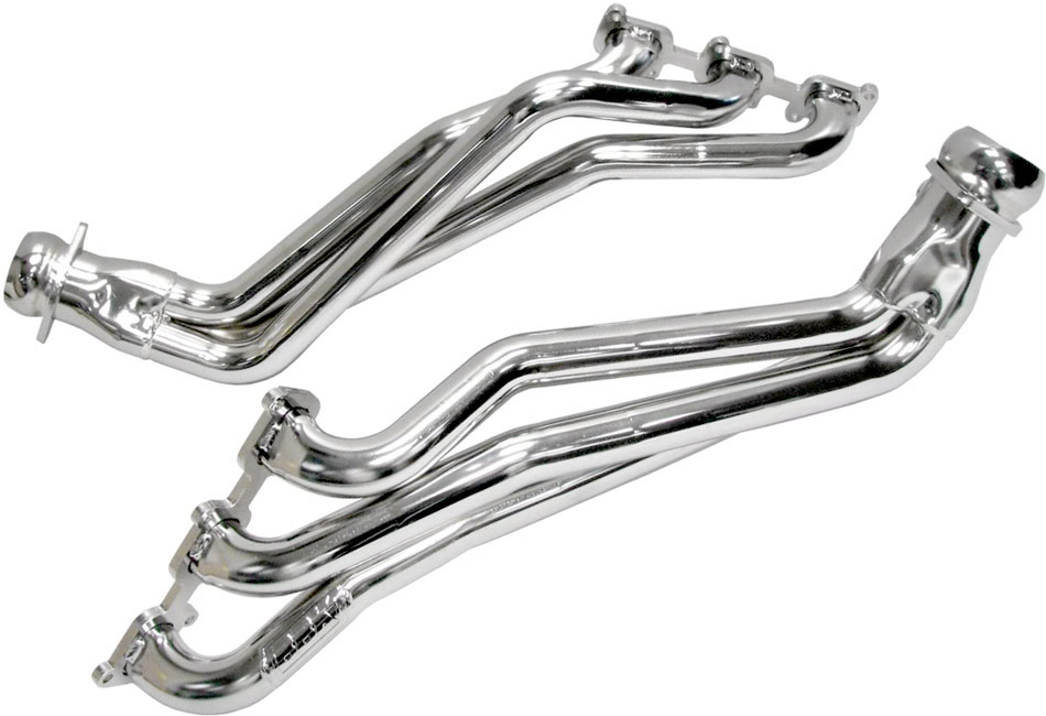 BBK Mustang Long Tube Headers - Silver Ceramic (11-17 V6)