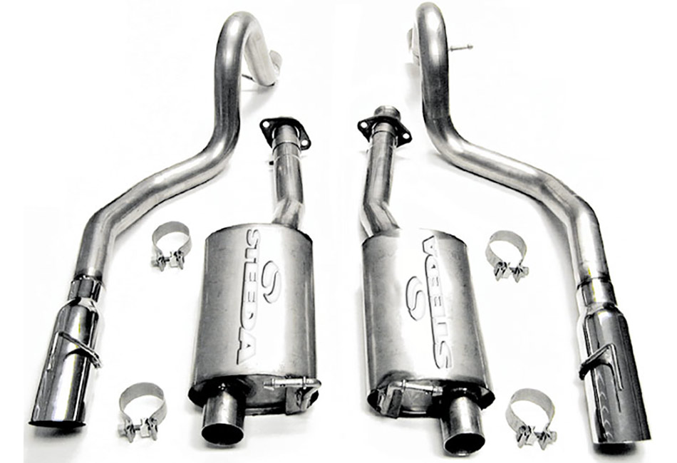 Steeda Mustang GT Cat-Back Exhaust System (1999-2004)