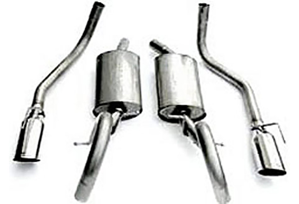 Steeda Mustang Cat-Back Exhaust (99-04 V6)