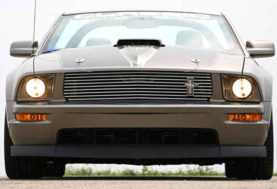 Classic Design Concepts Mustang Chrome Billet Grille (05-09)