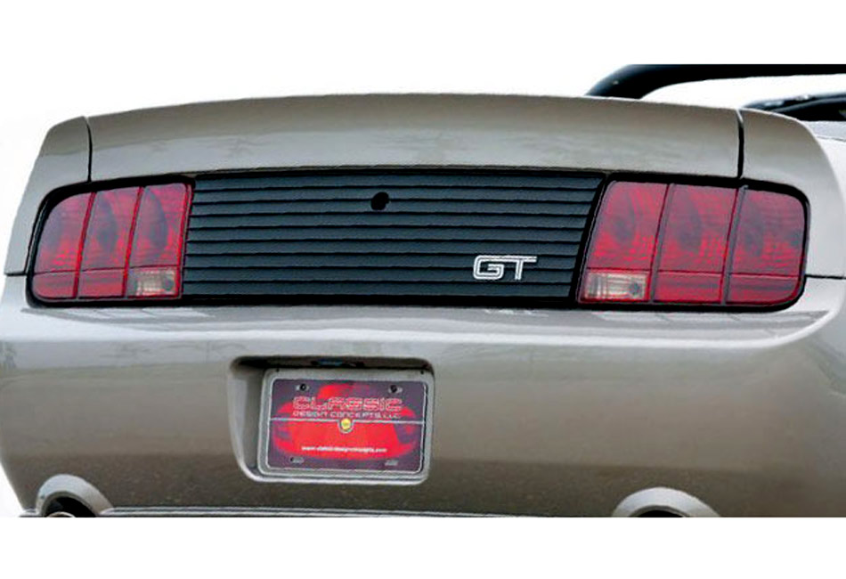 CDC Mustang Rear Decklid Panel w/ GT Logo (05-09)