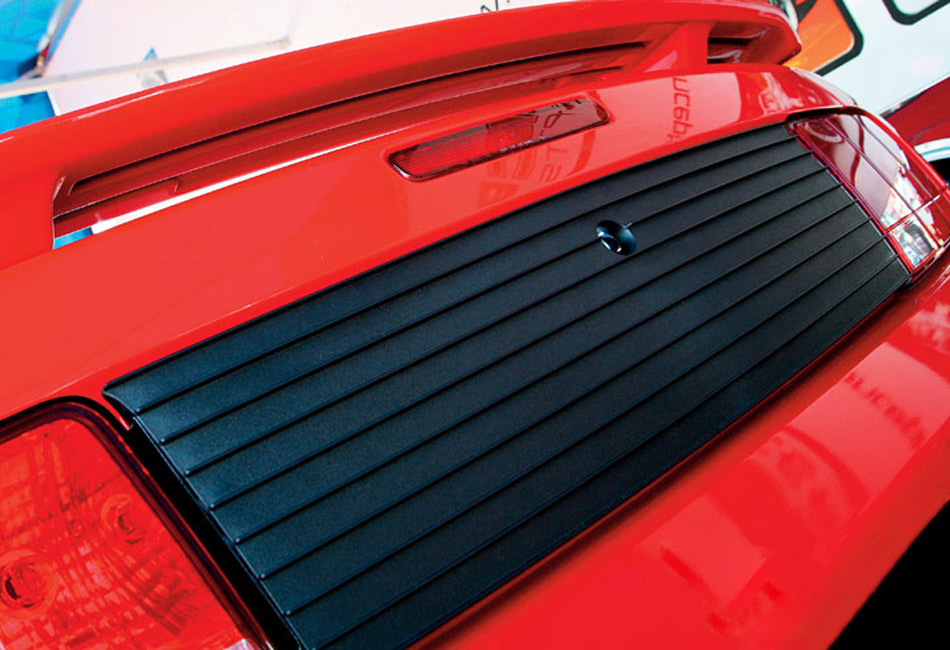 Classic Design Concepts Mustang Rear Decklid Panel (2005-2009)