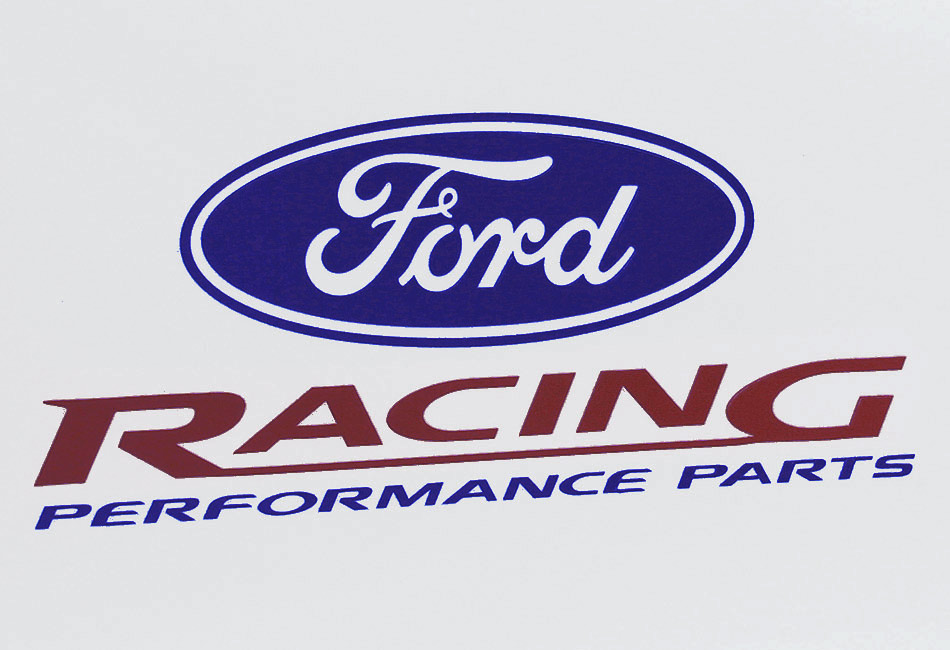 Ford Racing Decal - 6.25""