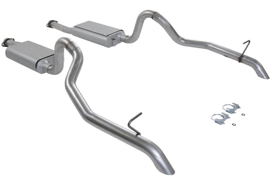 Flowmaster Mustang GT Force II Cat-Back Exhaust (1987-1993)