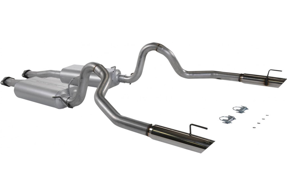 Flowmaster Mustang 3 Chamber Cat-Back Exhaust (99-04 GT)