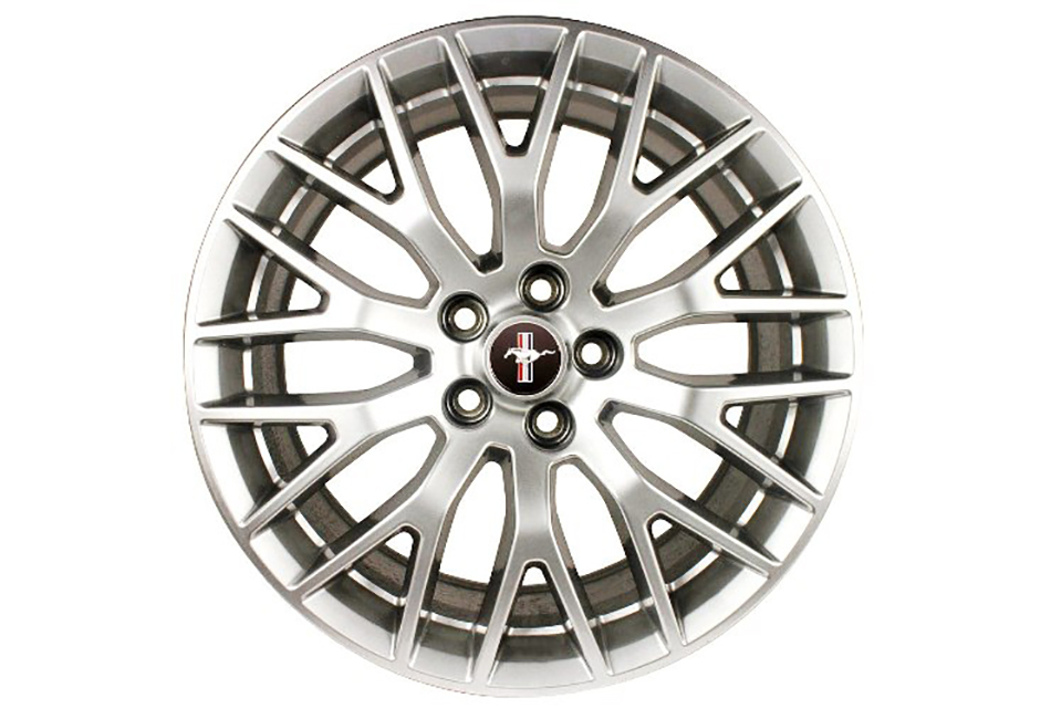Ford Performance Mustang Performance Pack Wheel - 19x9.5 - Silver (2015)
