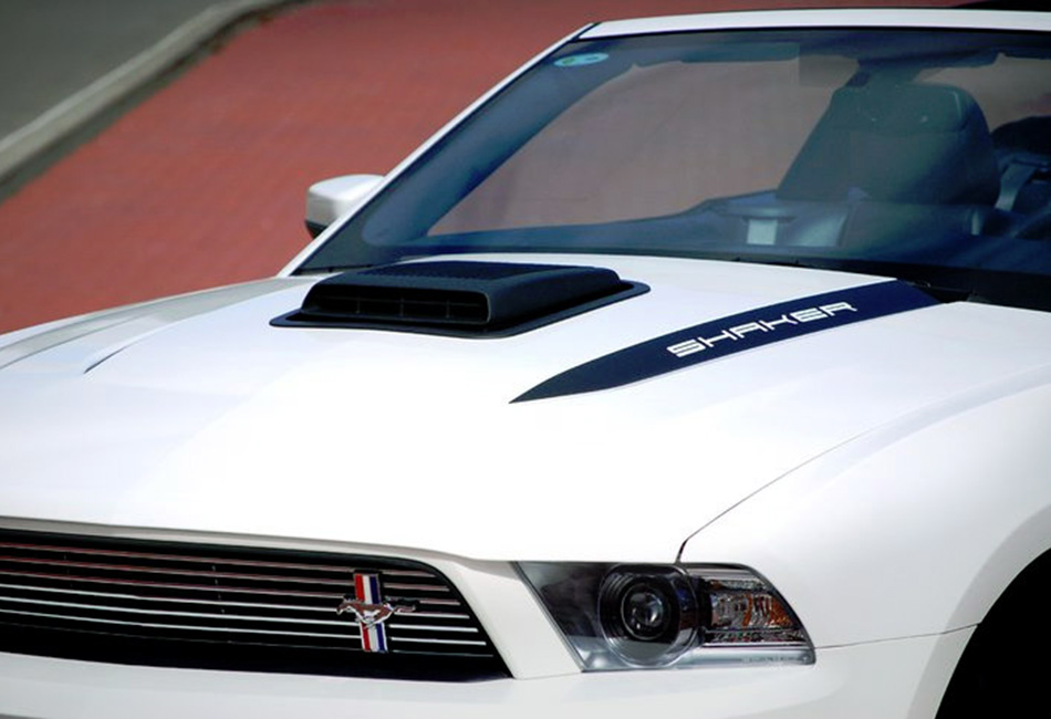 Ford Performance Mustang Shaker Hood System (2010)