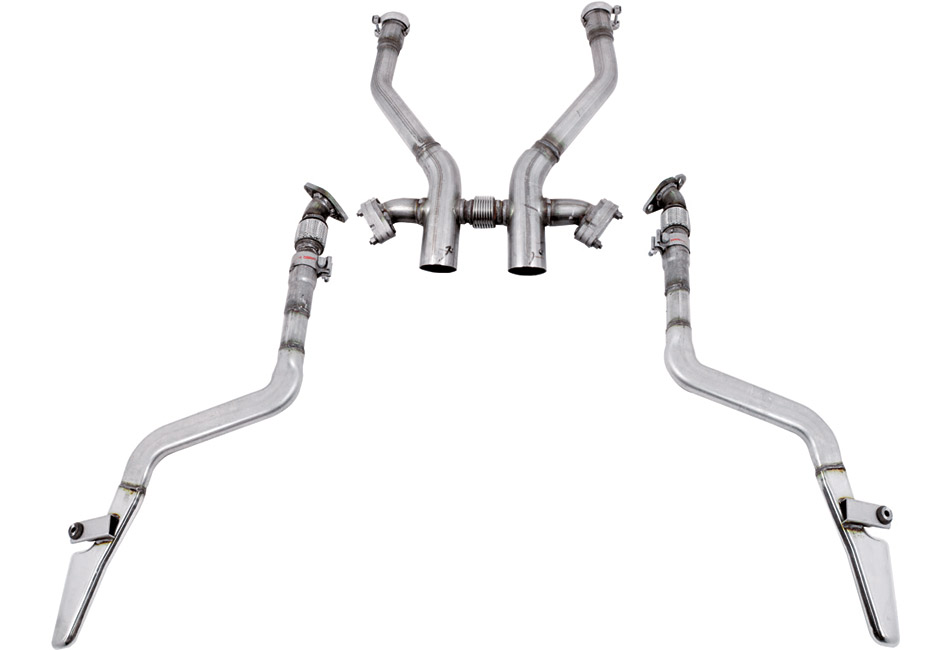 Ford Performance Boss 302 Style Mustang Side Exhaust - 11-14 Discontinued