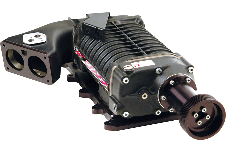 Whipple Mustang Supercharger - Black - Stock TB (03-04 Cobra)