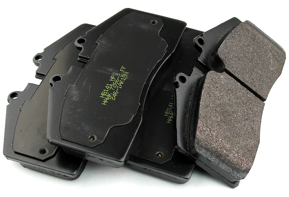 Hawk HPS Mustang Brake Pads - Front (05-14 w/ Steeda Big Brake Kit)