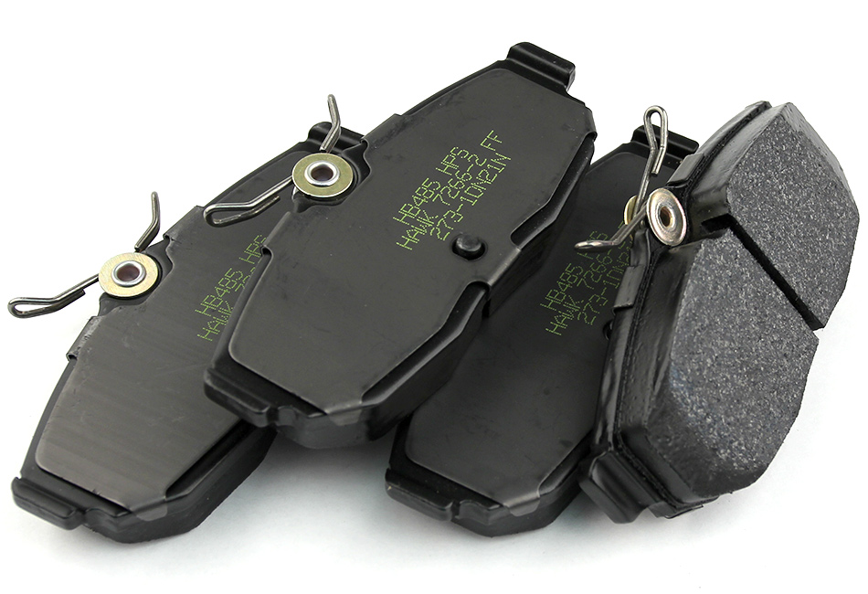 Hawk HPS Mustang Brake Pads - Rear (05-14 GT, GT500, Boss, V6)