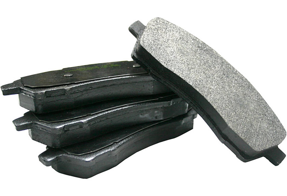 Hawk Ford Fusion Front Ceramic Brake Pads - Front (06-12)