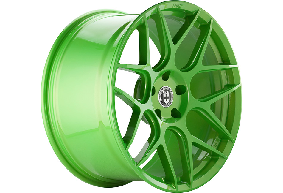 HRE FlowForm FF01 Tequila Lime Mustang Wheel - 20x10.5 (05-15 All)