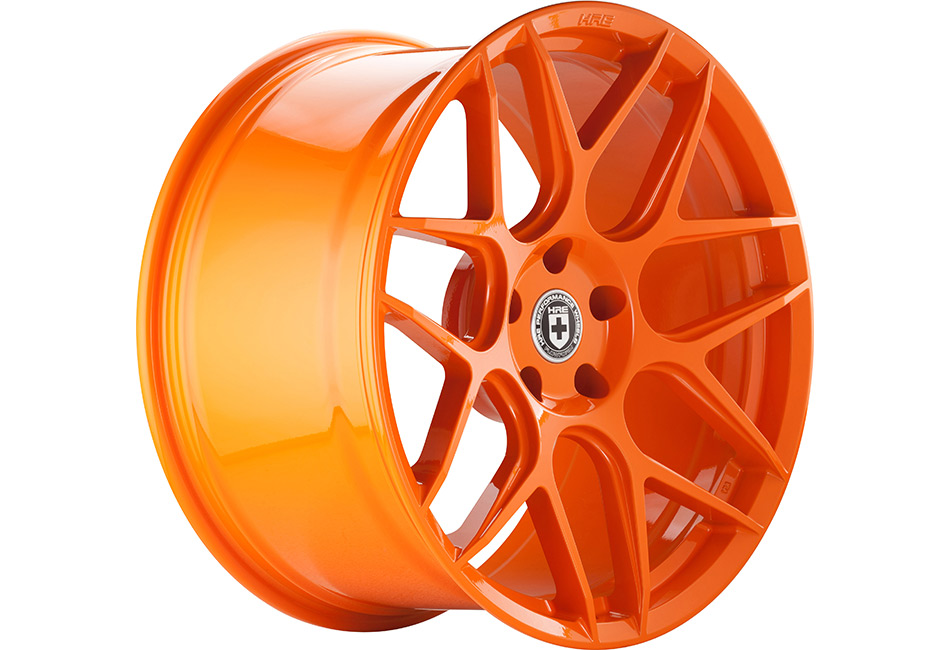 HRE FlowForm FF01 Race Orange Mustang Wheel - 20x10.5 (2005-2021)