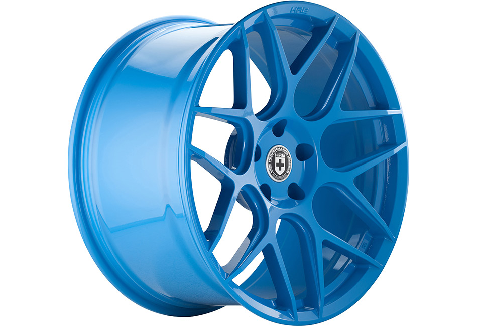 HRE FlowForm FF01 Sky Blue Mustang Wheel - 20x10.5 (05-15 All)