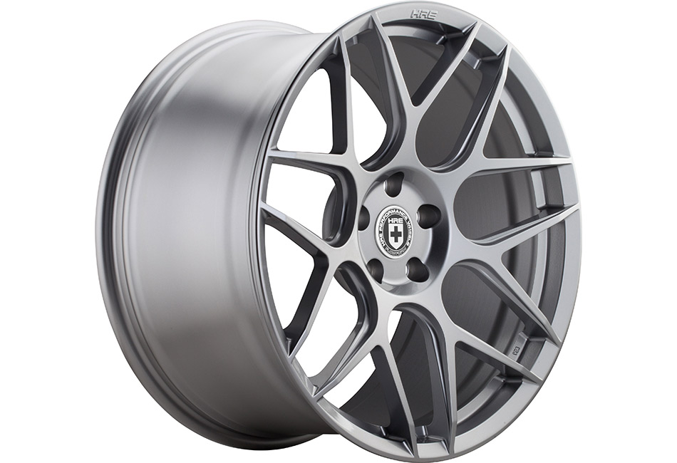 HRE FlowForm FF01 Liquid Silver Mustang Wheel - 20x9.5 (05-15 All)