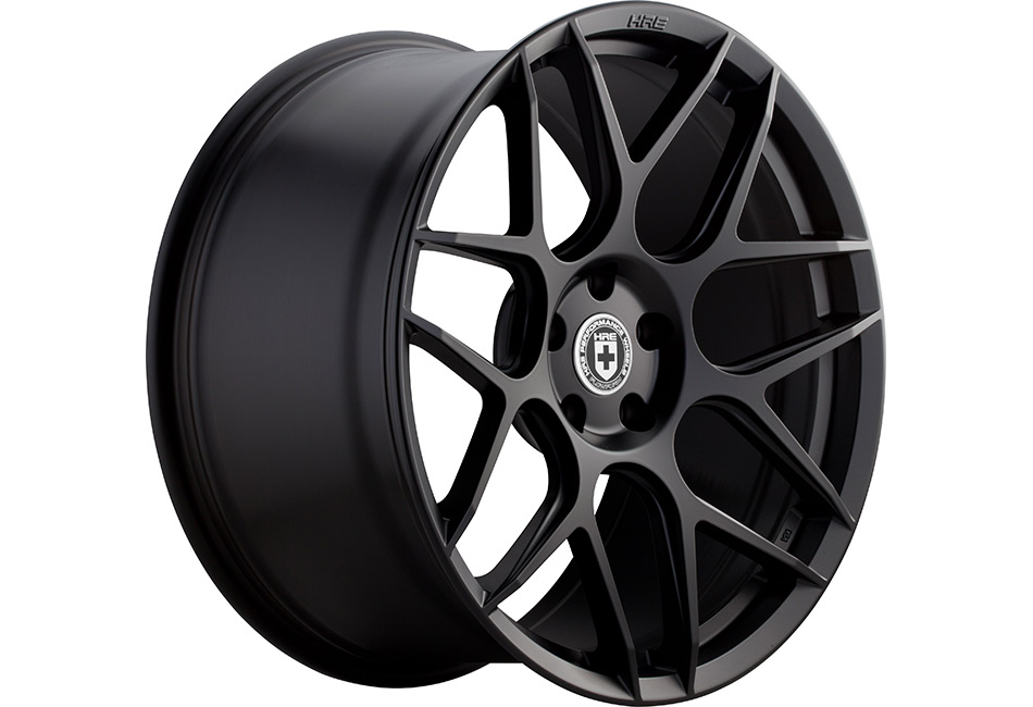 HRE FlowForm FF01 Tarmac Black Mustang Wheel - 20x10.5 (05-15 All)