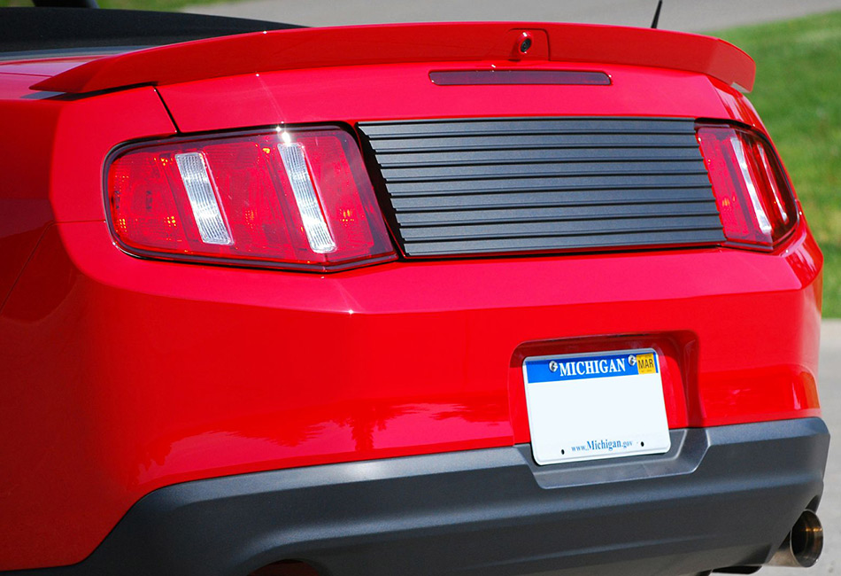 Classic Design Concepts Mustang Rear Deck Lid Panel (2010-2014)