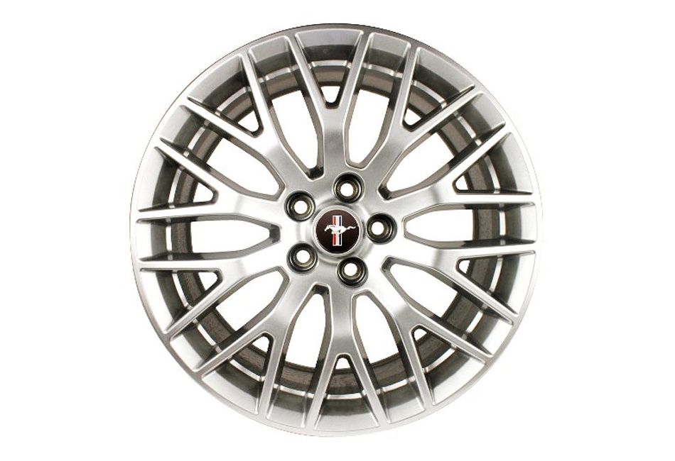 Ford Performance Mustang Performance Pack Staggered Wheel Set - Sparkle Silver (2015) - DISCONTINUED