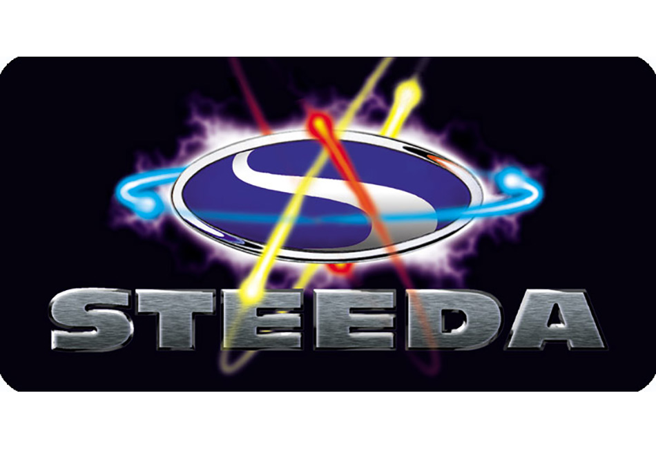 Steeda Atomic License Plate