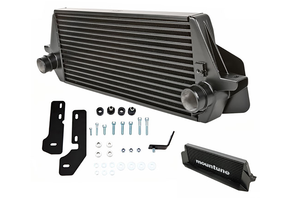Mountune Focus ST Intercooler Upgrade - Black (2015-2018)