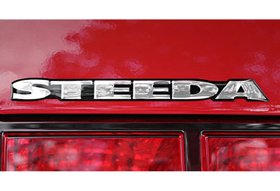 Steeda Embossed Name Emblem
