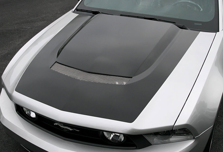 Steeda Q-Series Mustang Functional Hood (10-12)