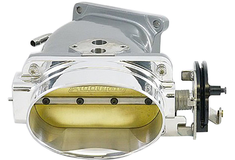 Accufab Mustang Throttle Body & Inlet - Powdercoated (03-04 Cobra)